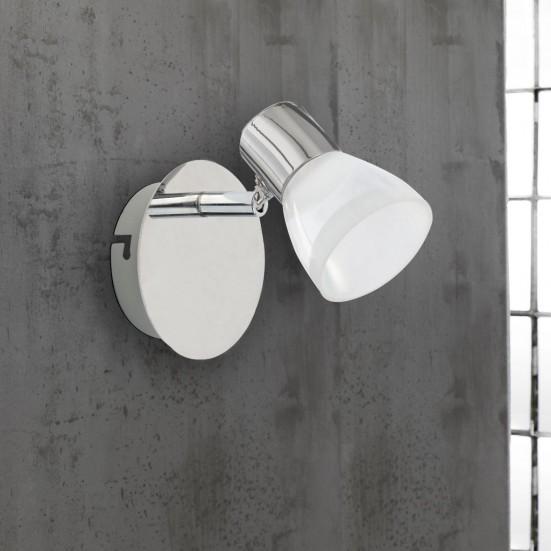 NÁBYTEK Steele - Nástěnné osvětlení, LED (chrom)