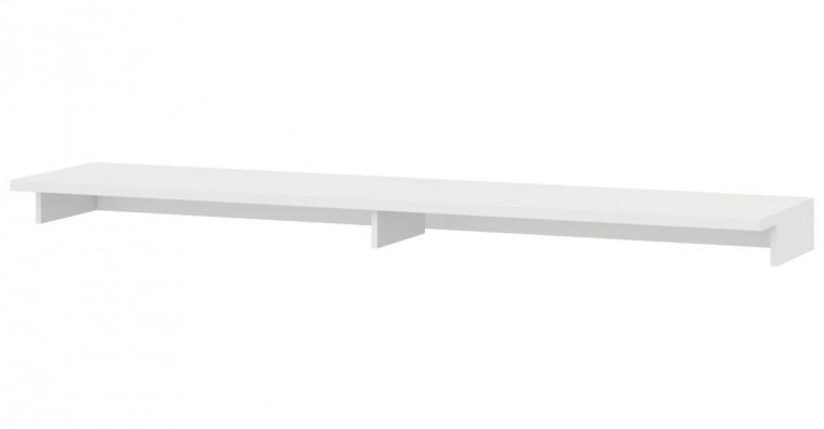 Nádstavec na TV stolek Cino - Typ 62 (bílá arctic)