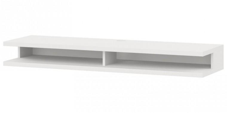 Nádstavec na TV stolek Cino - Typ 63 (bílá arctic)