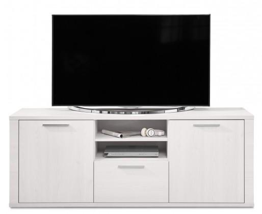 Nádstavec na TV stolek Cool - TV prvek (modřín bílý/modřín bílý)