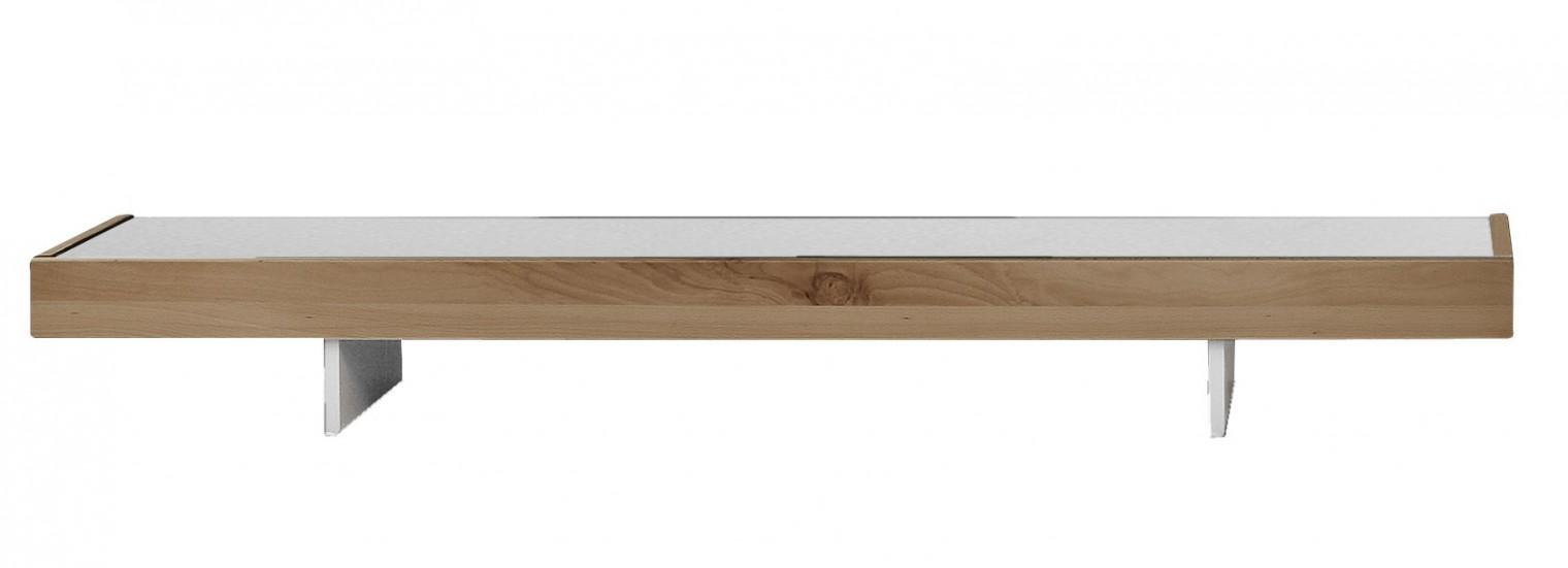 Nádstavec na TV stolek Feel - TV nádstavba 4071415 (bílá/divoký buk)