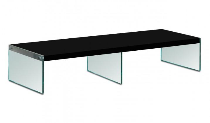 Nádstavec na TV stolek Game - TV nástavba (černá)