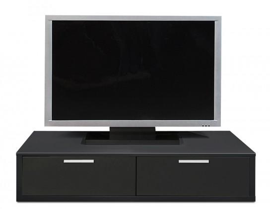 Nádstavec na TV stolek Game - TV prvek, 120 cm (černá)