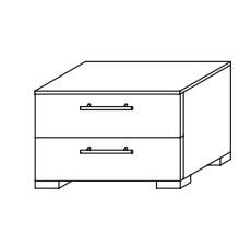 Nala AS806.64W5 (černá/černé sklo)