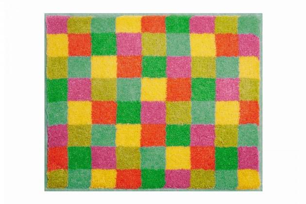 Nano - Koupelnová předložka malá 50x60 cm (oranžová)