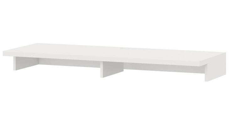Nástavec na TV stolek Cino - Typ 61 (bílá arctic)