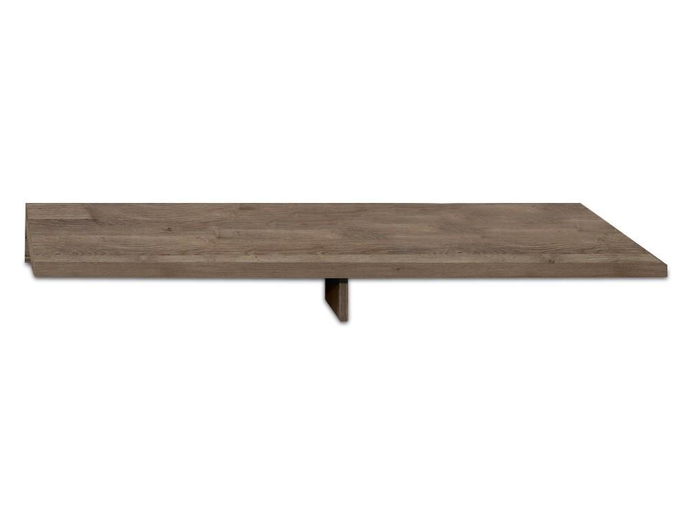 Nástavec na TV stolek Linea - TV nástavba, 120 cm (dub tmavý HN)