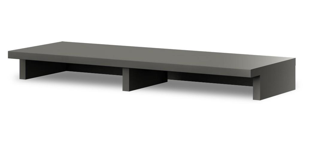 Nástavec na TV stolek Portoriko Typ 13 (Bílá Arctic/Grafit matný)
