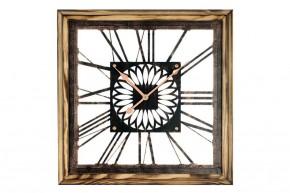 Nástěnné hodiny - H05, dřevo, kov