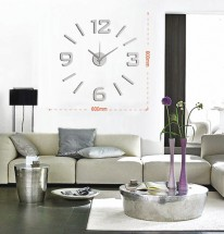 Nástěnné hodiny - H19, 50 cm, šedá