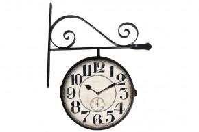 Nástěnné hodiny oboustranné - H12, kov