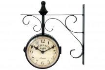 Nástěnné hodiny oboustranné - H13, kov