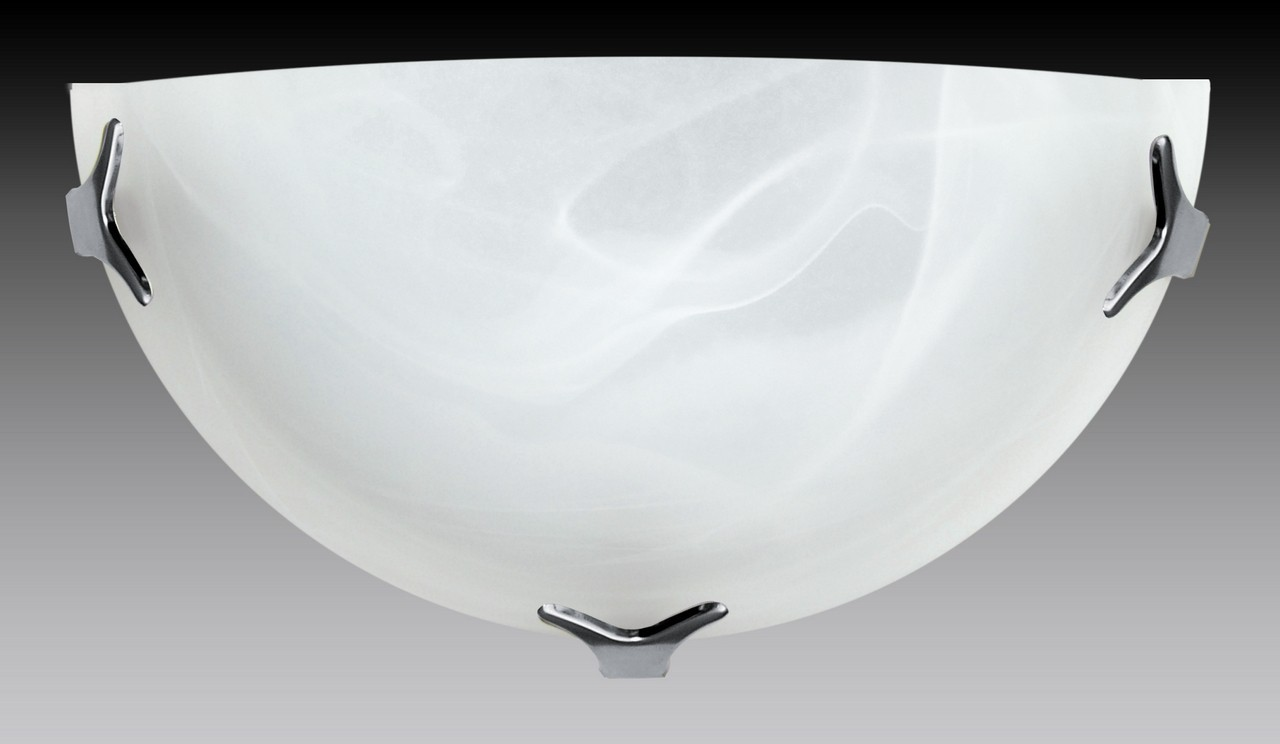 Nástěnné svítidlo - 5504/A/CR/AL (bílá)