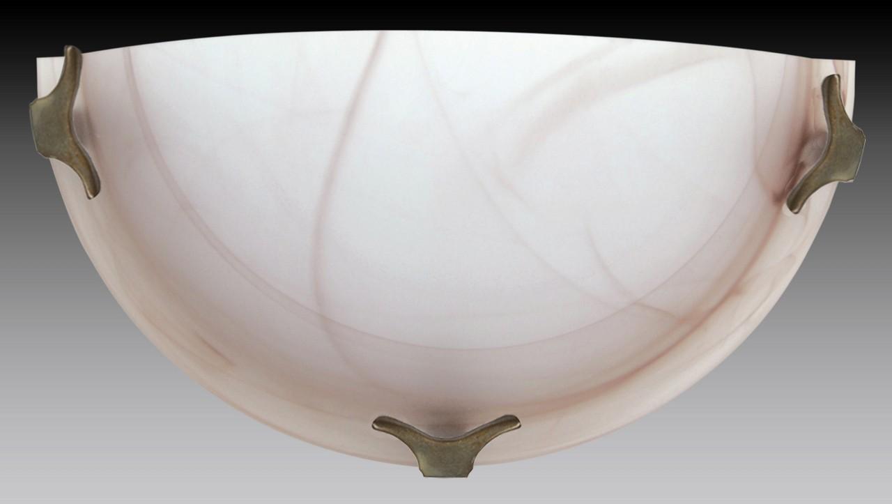 Nástěnné svítidlo - 5504/A/ZL/HN (hnědá)