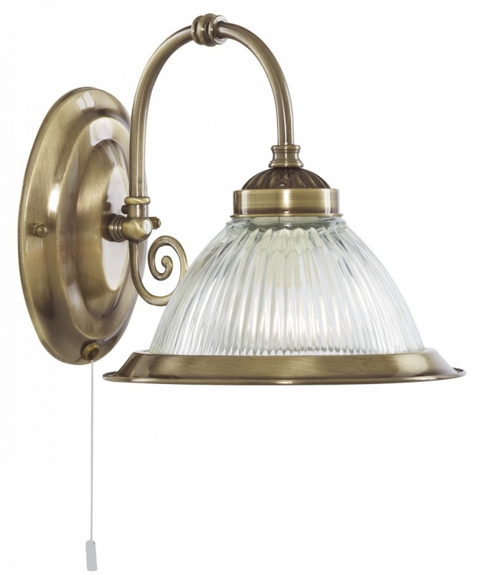 Nástěnné svítidlo - 83/A/ZL (hnědá)