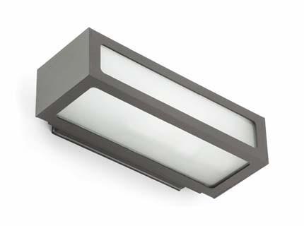 Natron - Nástěnné svítidlo (tmavá šedá)