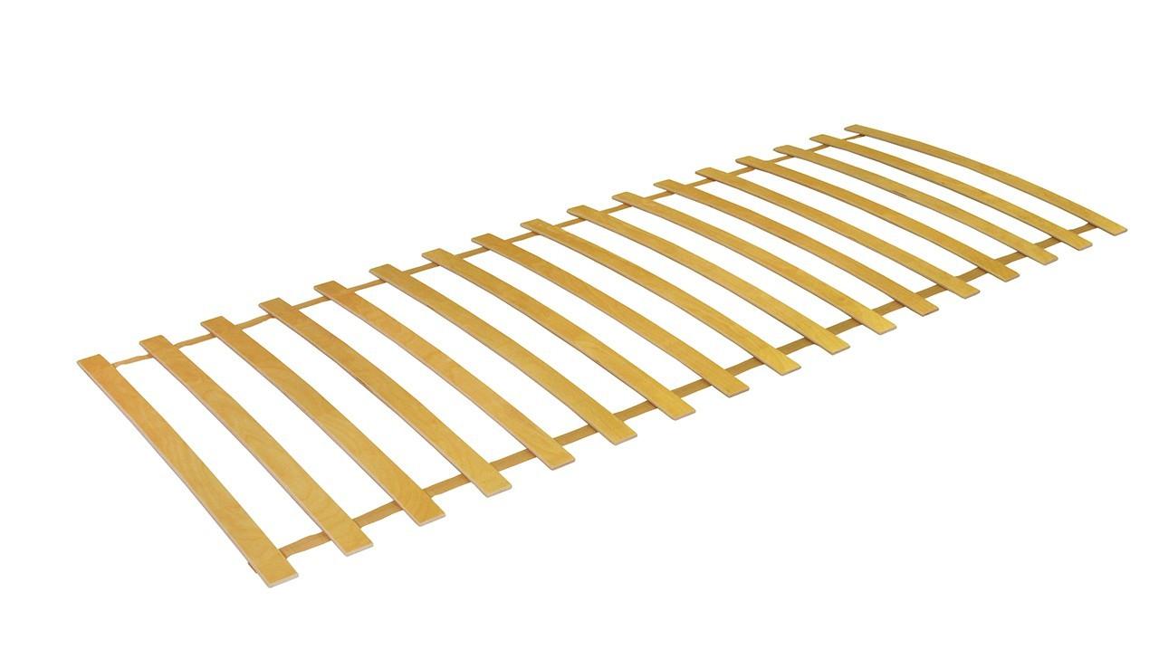 Nepolohovací Rolo 17 - lamelový rošt, 200x90 (17 lamel)