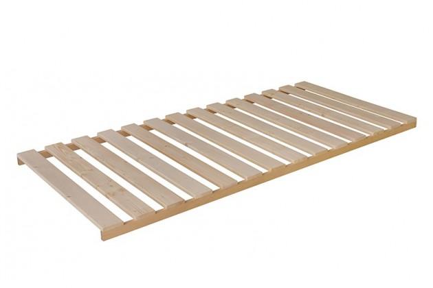 Nepolohovací Rošt Wood - 90x200x6 cm, nepolohovací (14 pevných latí v rámu)