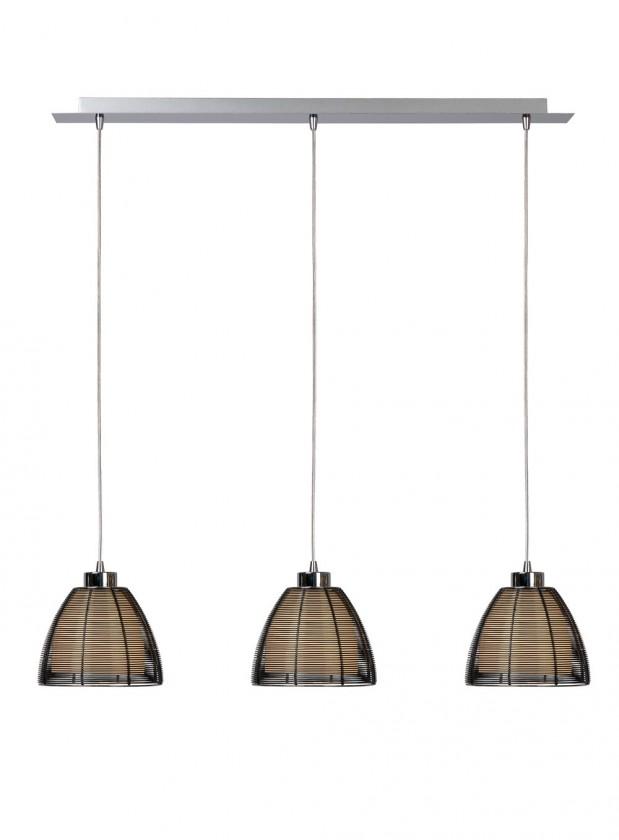 Newport - stropní osvětlení, 60W, 3xE27 (černá)