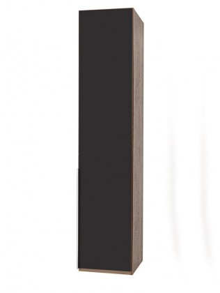 NewYork1 - Skříň, 45/234/58 (láva/ořech)