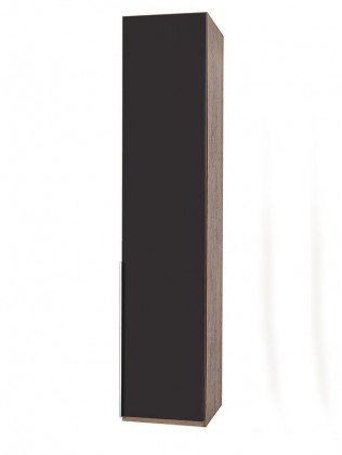 NewYork22 - Skříň, 45/208/58 (láva/ořech)