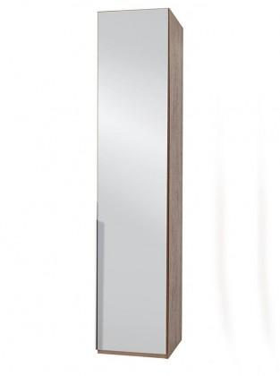 NewYork28 - Skříň, 45/208/58 (zrcadlo/ořech) P05503