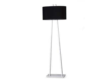 Noble - Podlahová lampa (chrom)