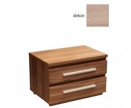 Noční stolek Dafne 2 (dub bardolino) - II. jakost