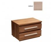 Noční stolek Dafne 2 (dub bardolino)