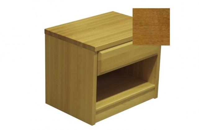Noční stolek Elis - Noční stolek (ořech světlý)