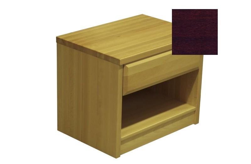 Noční stolek Elis - Noční stolek (ořech tmavý)