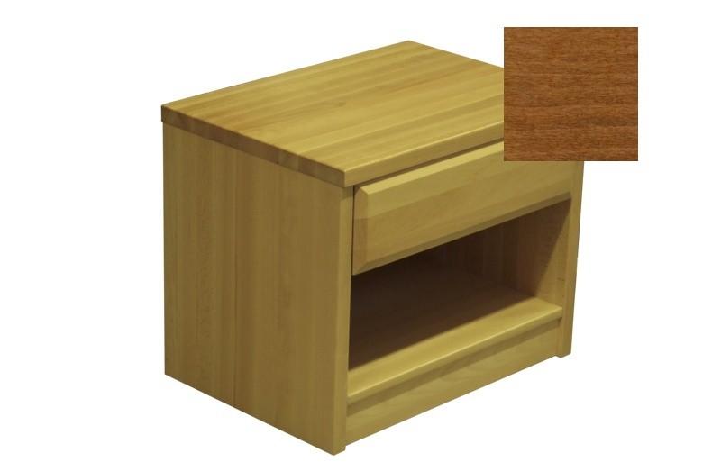 Noční stolek Elis - Noční stolek (ořech)