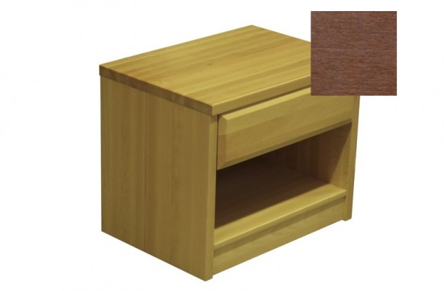 Noční stolek Elis - Noční stolek (švestka)