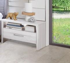 Noční stolek Kampen 848697(bílý dub)