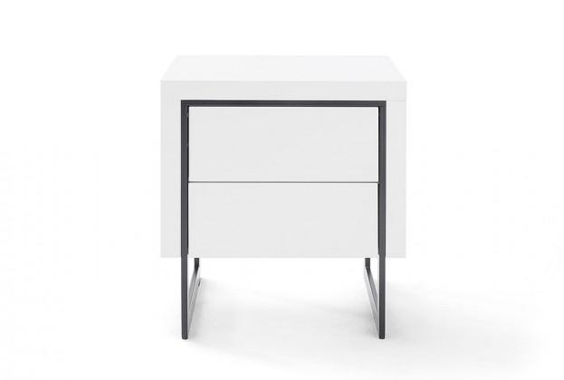 Noční stolek Noční stolek Garet (bílá mat)