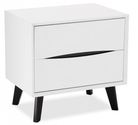 Noční stolek Noční stolek Sens (bílá, černá)