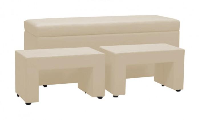 Noční stolek Noční stolek TRIPLE + NIGHT STANDS (ivory, sk. IV)