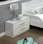 Noční stolek Pamela (alpská bílá)