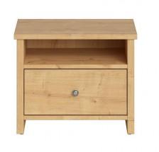 Noční stolek Puerto (dub burlington)