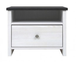 Noční stolek Puerto (modřín sibiu světlý)
