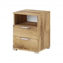 Noční stolek Safron (dub wotan)