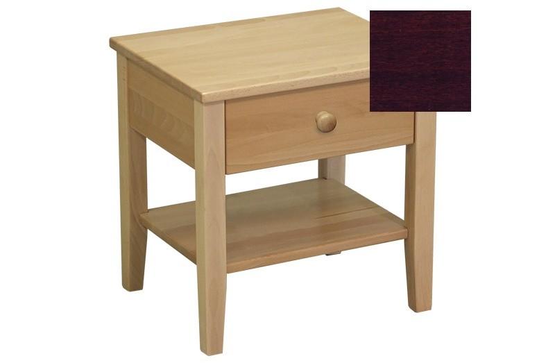Noční stolek Talia - Noční stolek (ořech tmavý)