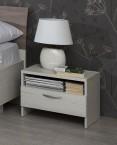 Noční stolek UNO - typ NS (pino aurelio) - II. jakost