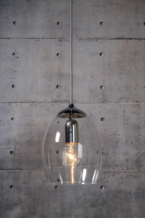 Nora - stropní osvětlení, 60W, E27 (stříbrná)