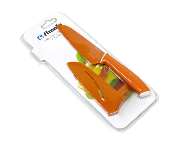 Nůž 379427 (nerez,plast,oranžová)