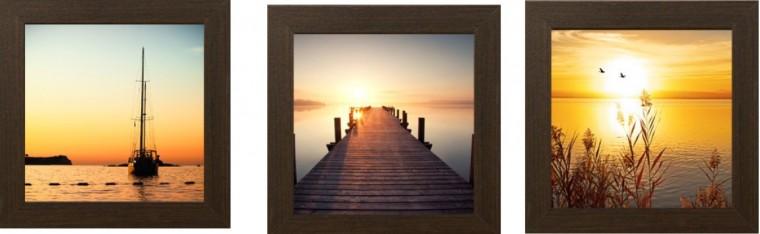 Obraz(20X60 Západ slunce)