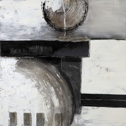 Obraz abstraktní W161, 100x100 cm