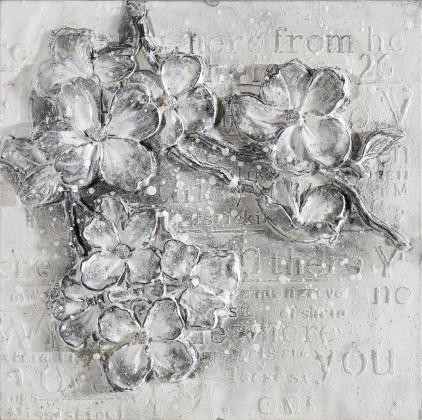 Obraz abstraktní W306, 60x60 cm
