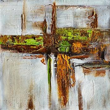Obraz abstraktní W542, 30x30 cm
