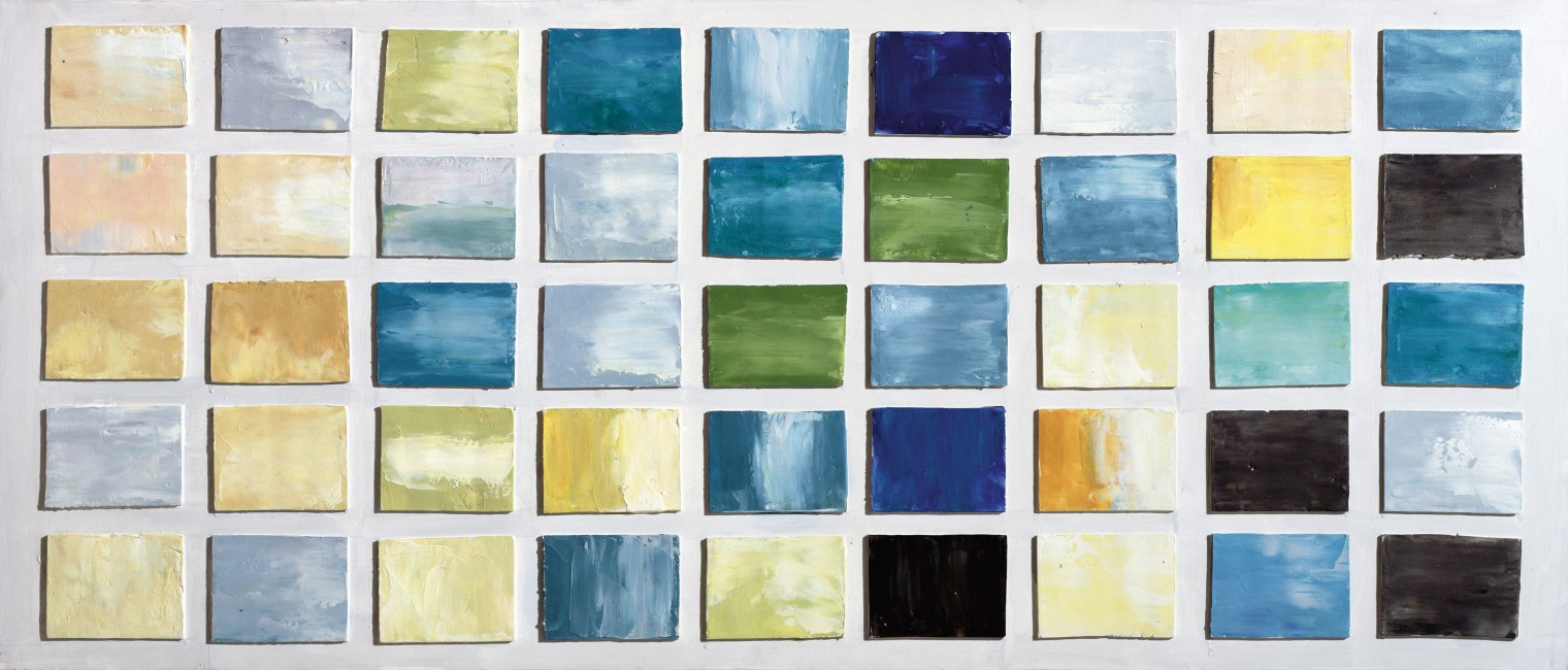 Obraz abstraktní Z317, 65x150 cm